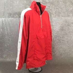 MNML Jackets & Coats - MNML OPEN SIDES PULLOVER TRACK JACKET
